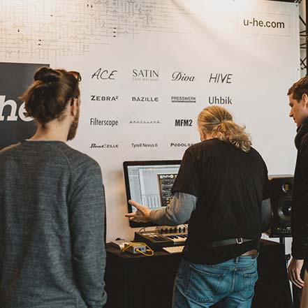 u-he at Superbooth 2016
